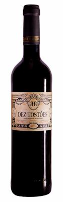 red wine dez tostoes